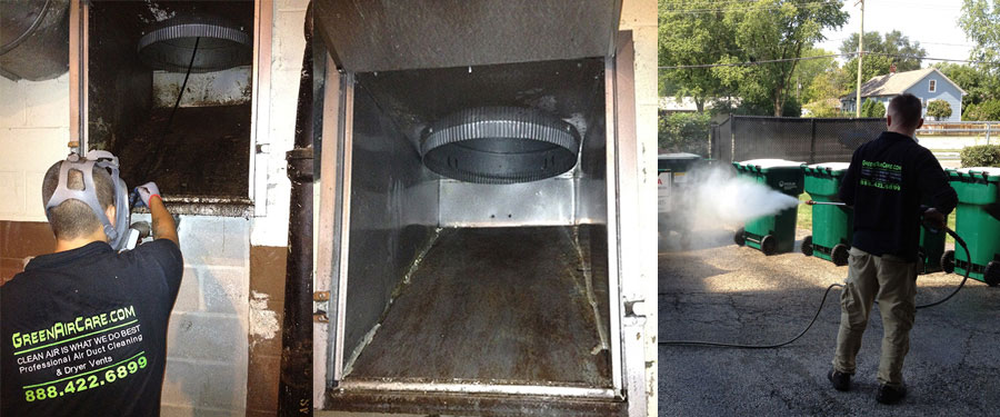 Trash Chute Cleaning Service Chicago Il Green Air Care